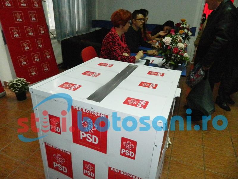 Liste definitive la PSD Botoșani pentru alegerile parlamentare