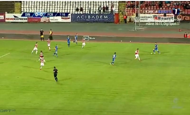 Dinamo Bucureşti- FC Botoşani 2-0