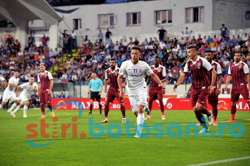FC Botosani obtine un punct important pe terenul celor de la CFR Cluj! Penalty neacordat la Morutan!