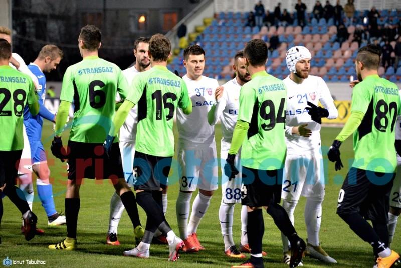 FC Botosani obtine un punct la Medias, intr-un meci cu doua penalty-uri neacordate de arbitru!