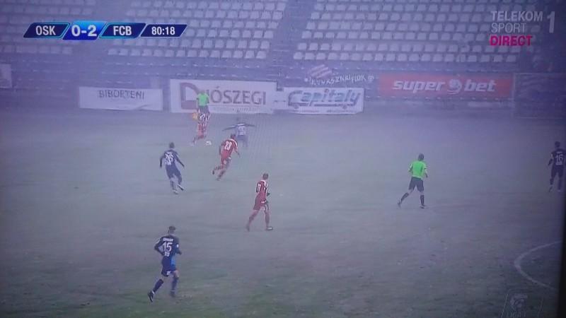 Victorie in zapada! FC Botosani s-a impus in fata lui Sepsi, pe o ninsoare puternica!