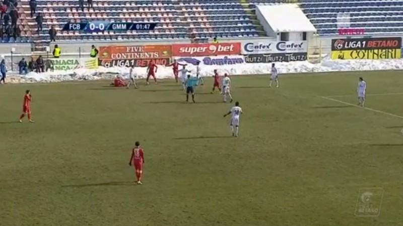 FC Botoşani- Gaz Metan Mediaş 1-0