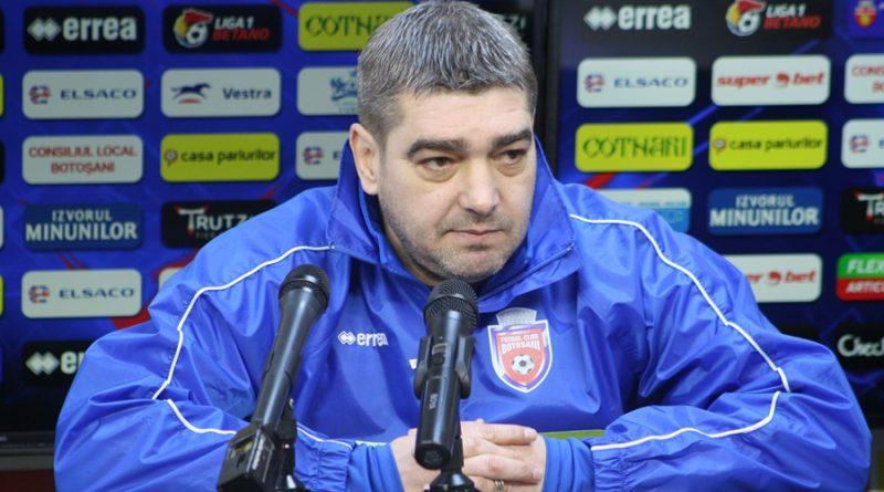 """Liviu Ciobotariu, înaintea meciului cu FCSB: """"Fiecare jucător în parte este conştient de miza jocului"""""""