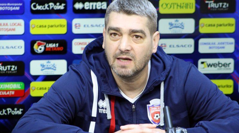"""Liviu Ciobotariu: """"Ne gândim să terminăm mai sus acest play-out!"""""""