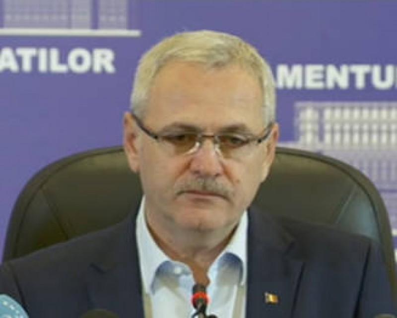 Liviu Dragnea anunta calendarul formarii Guvernului si il critica pe Iohannis