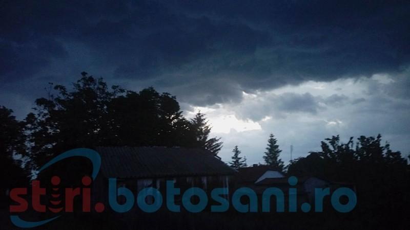 Localităţi din judeţul Botoşani, plasate sub cod galben!