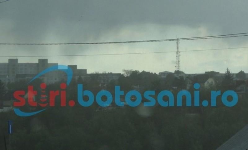 Localități din județul Botoșani, sub Cod Galben de vreme rea!