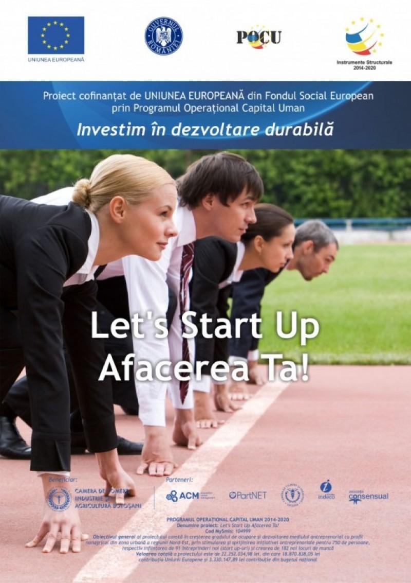 Locuieşti în Săveni şi ai o idee de afacere pe care ţi-ar plăcea să o poţi pune în aplicare?