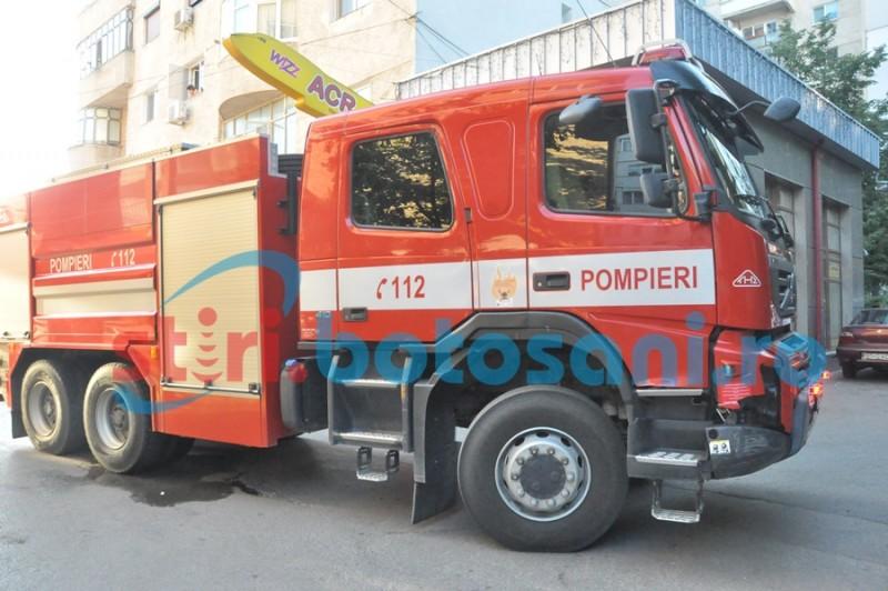 Locuinţe salvate de pompieri!