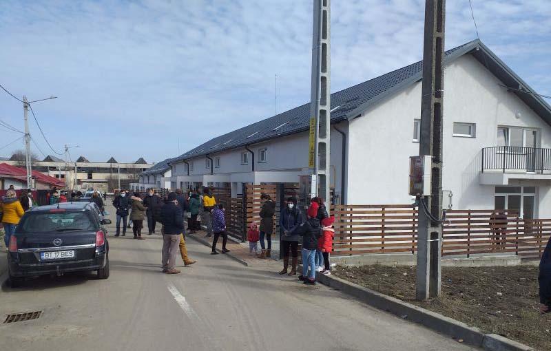 Locuințe sociale ca în filme la Dorohoi. Municipalitatea a investit aproximativ 1 milion de euro