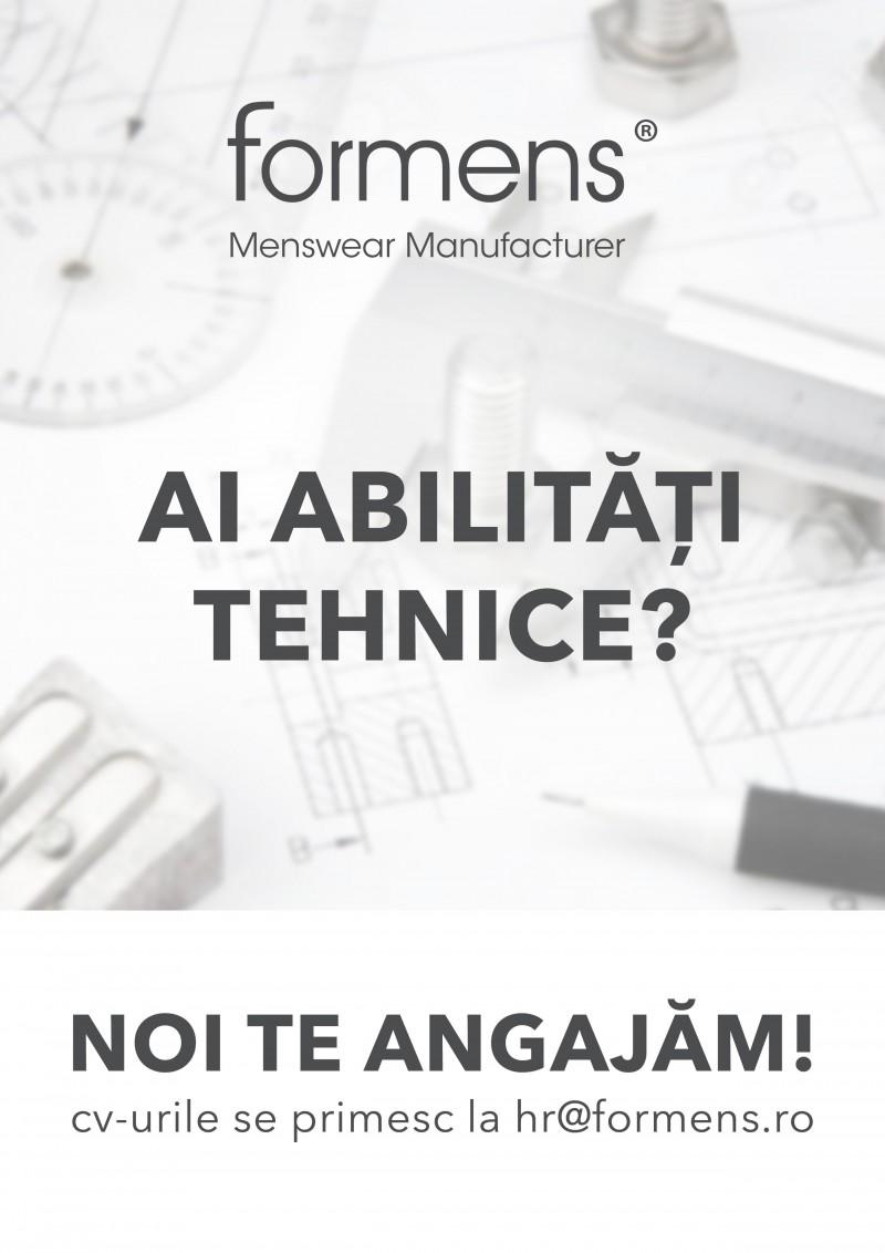 Locuri de muncă în domenii tehnice la Botoșani