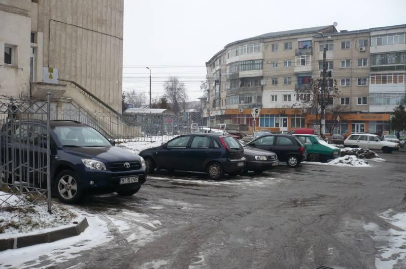 Locuri de parcare scoase la licitaţie în municipiul Botoşani
