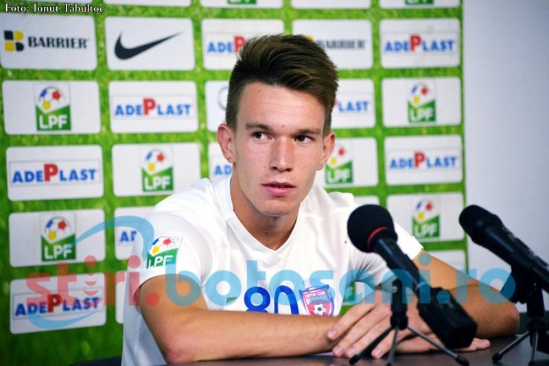 """Lorand Fulop, debut cu gol la FC Botosani: """"Am visat ca voi marca. Este cea mai frumoasa seara"""" - FOTO, VIDEO"""