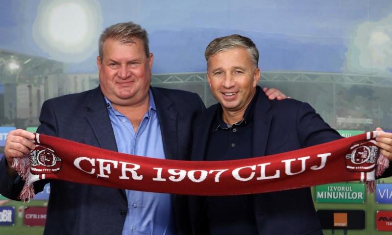 Lovitura anului în Liga 1! Dan Petrescu revine la CFR Cluj