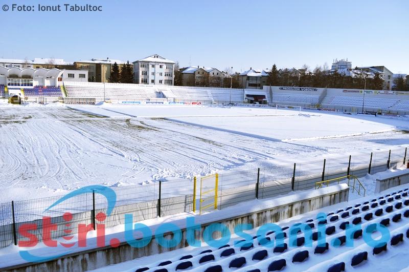 LPF ar putea amâna reluarea Ligii 1! Vezi cum arata stadionul din Botosani - FOTO