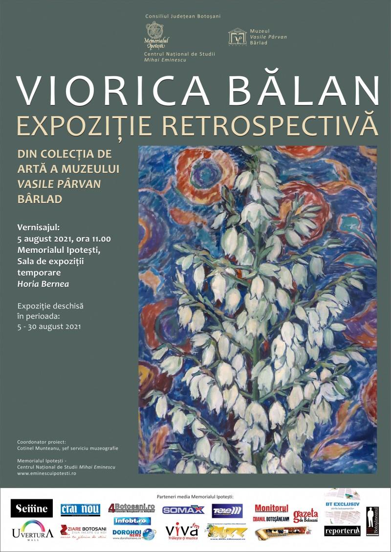 Lucrările de artă ale unei pictorițe din Iași, expuse la Memorialul Ipotești