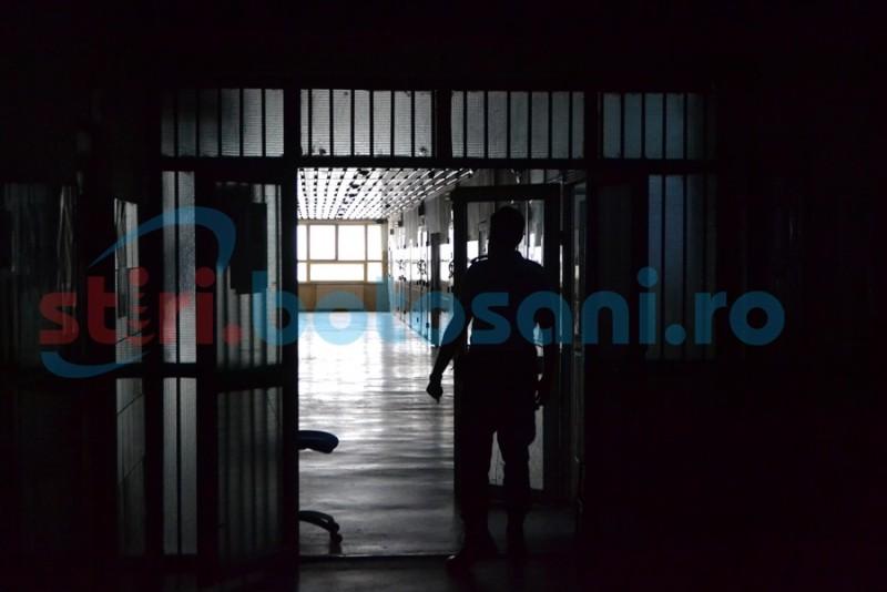 Lucrătorii botoşăneni din Penitenciar protestează la Iaşi!