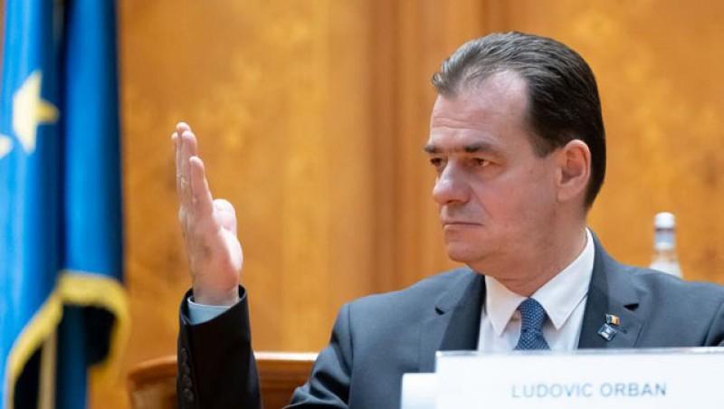 Ludovic Orban a renunțat în această seară la calitatea de premier desemnat