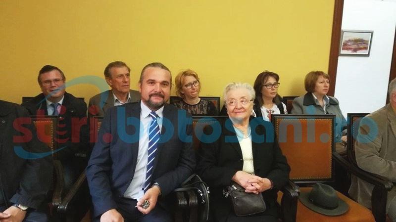 """Profesorul Grigore Luisian, Cetăţean de onoare al Municipiului Botoşani: """"Elevii sunt copiii mei. Suntem răsplătiţi prin ceea ce fac ei"""""""