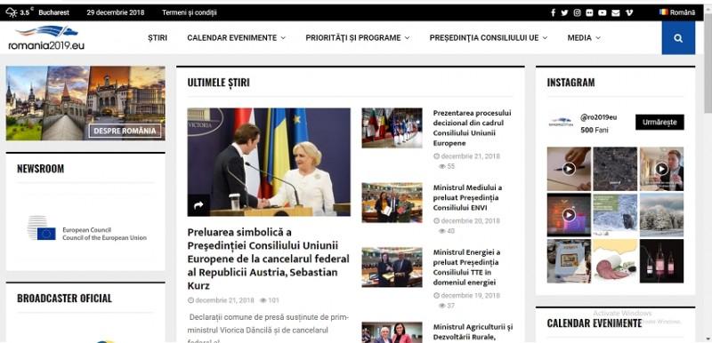 MAE a lansat site-ul oficial al Preşedinţiei României la Consiliul Uniunii Europene. Preşedintele Comisiei Europene spune însă că România nu a înţeles pe deplin ce înseamnă acest rol