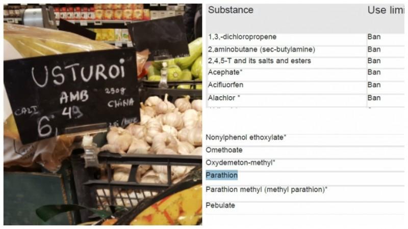 MAFIA usturoiului din China - dezvăluiri complete! Este tratat chimic să nu încolțească și se cultivă cu pesticide care-i otrăvesc pe români!