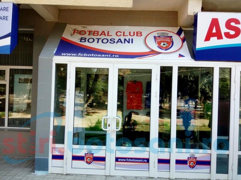 Magazin cu materiale promoţionale, deschis de FC Botoşani