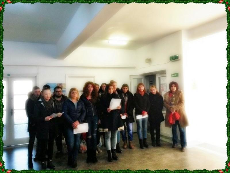 Magia Crăciunului la Spitalul de Pediatrie Botoşani!