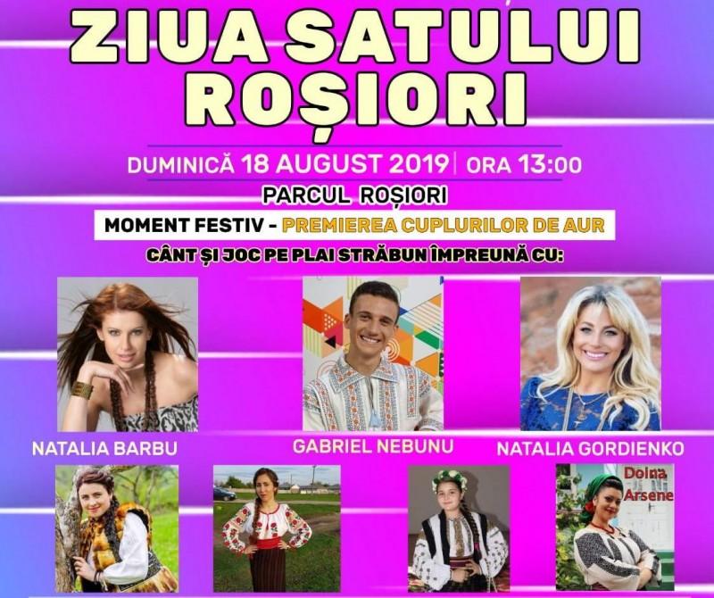 Mâine, mare sărbătoare la Roșiori, în comuna Răchiți!
