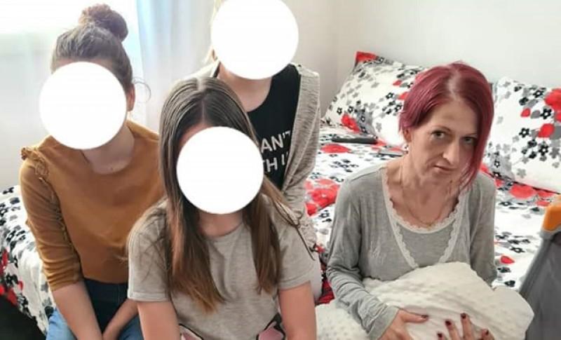 Mama a patru copii, diagnosticată cu cancer, are nevoie de ajutorul semenilor