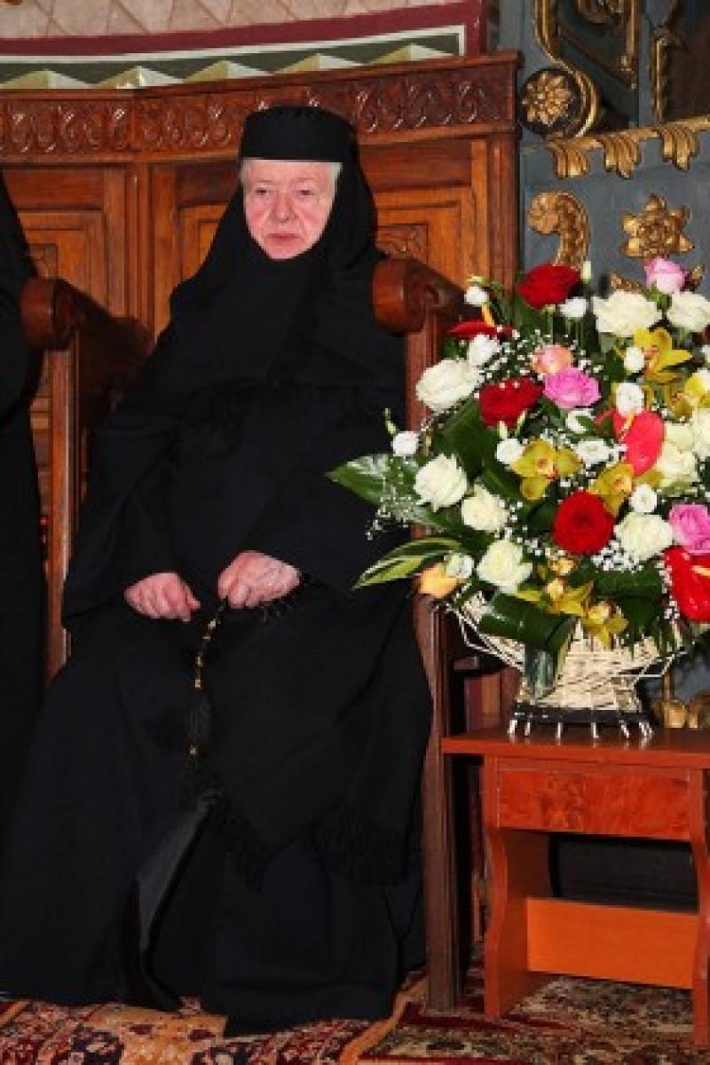 Mănăstirea Vorona: Stavrofora Teofana Scântei a împlinit 80 de ani