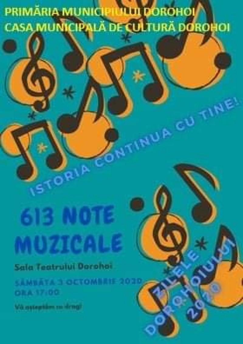 Manifestare cultural artistică dedicată muzicii și tinerilor artiști din Dorohoi