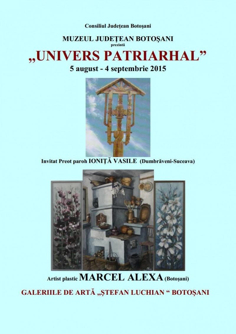 """Marcel Alexa aduce """"Universul patriarhal"""" la Galeriile de Artă!"""