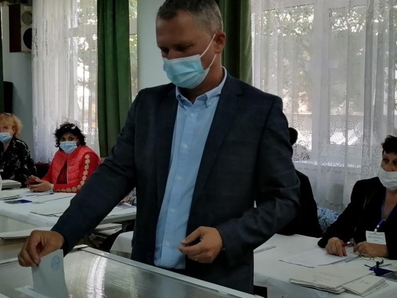 """Marcel Gheorghiță, candidatul USR pentru funcția de primar, a votat pentru un oraș modern și """"fără penali în funcții publice"""""""