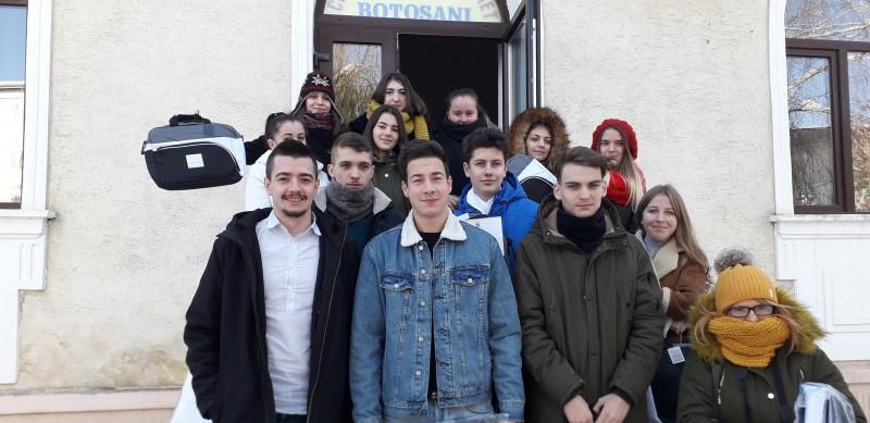 Marea Unire sărbătorită în Centrul de Tineret Botoșani - FOTO