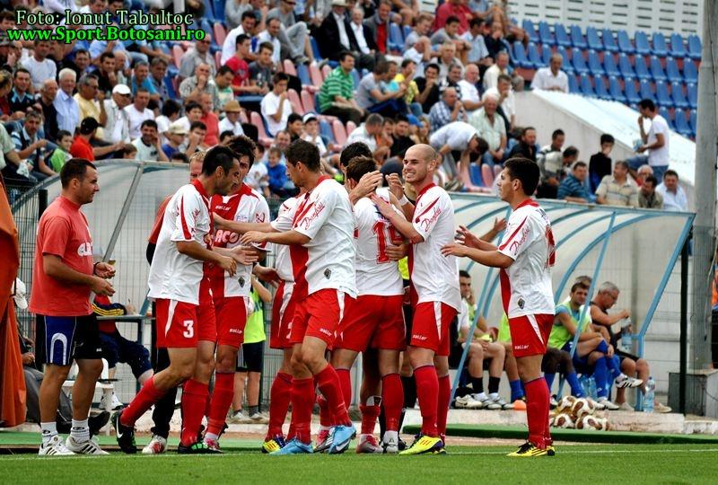 Marius Popescu a debutat cu dreptul la FC Botosani, 1-0 cu CF Braila. A marcat Andrei Patache - GALERIE FOTO