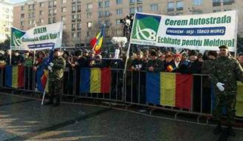 Mars din Moldova pana la Bucuresti: Guvernul sa inceteze degringolada si sa construiasca autostrada!