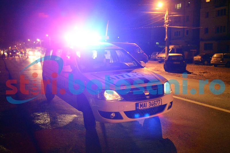 Mașină avariată la beție, în a doua zi de Paști