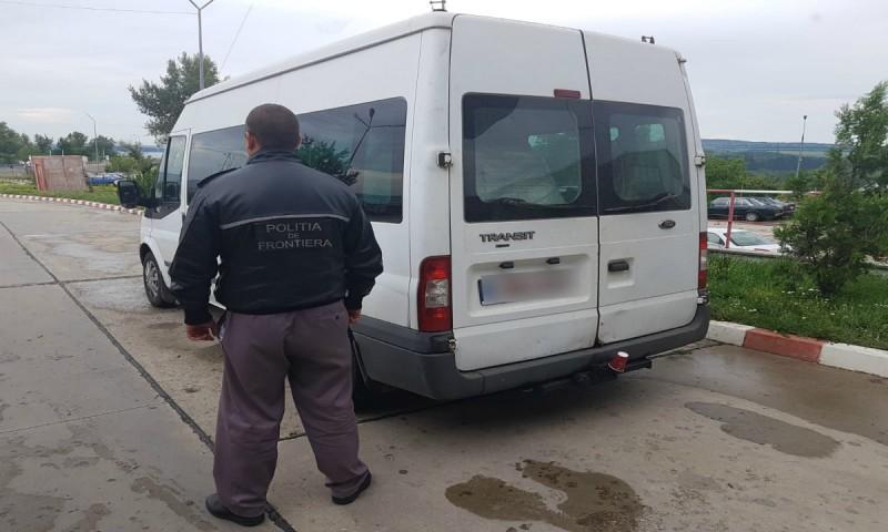 Mașină radiată în Belgia, oprită la frontiera cu Republica Moldova!