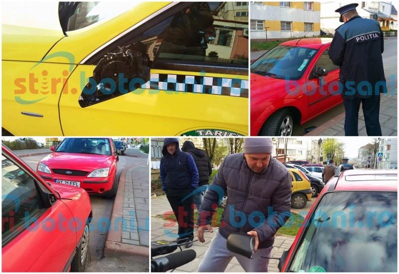 12 mașini vandalizate în Parcul Tineretului! Polițiștii încearcă să găsească făptașul! FOTO