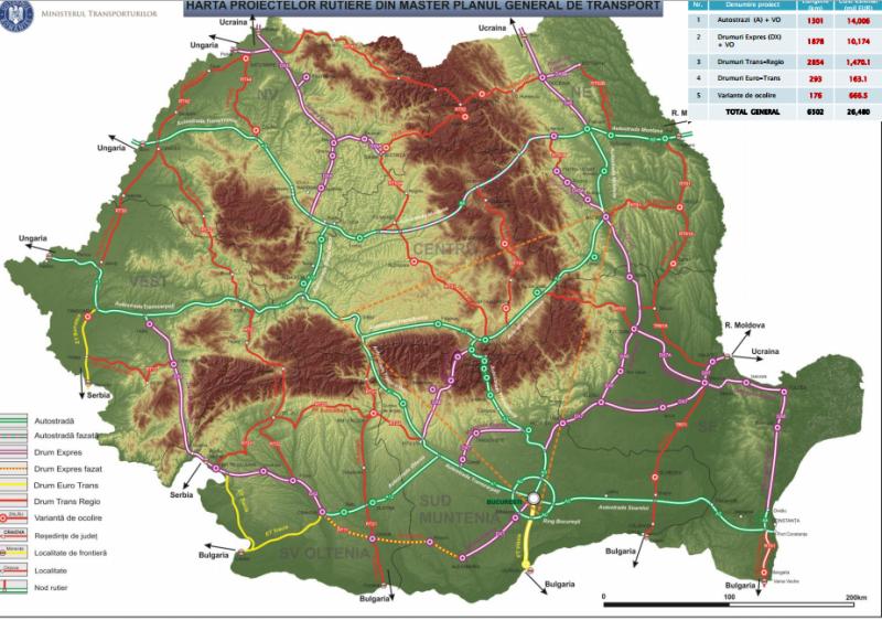 (Master)planuri măreţe pentru Botoşani: Vom avea drum expres cu patru benzi până la Suceava şi un drum european modernizat până la Tg. Frumos!