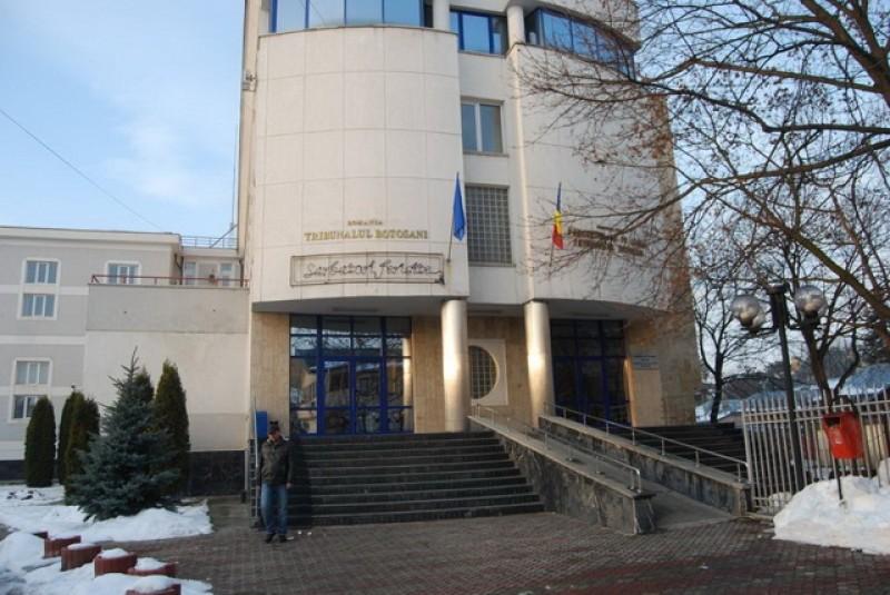 Măsuri drastice anti-coronavirus adoptate la Tribunalul din Botoșani. Program de lucru cu publicul scurtat, distanță de minimum 1 metru între angajați și persoane din exterior