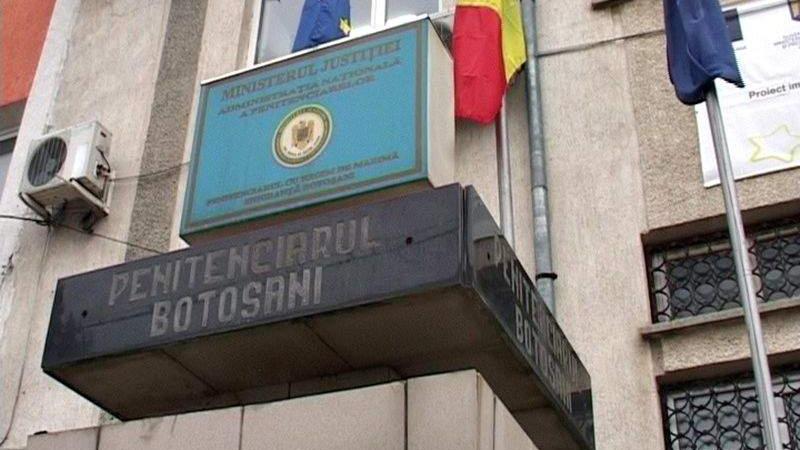 """Măsuri suplimentare de protecție la Penitenciarul din Botoșani. Triaj epidemiologic pentru """"nou veniți"""" și dezinfectare zilnică"""
