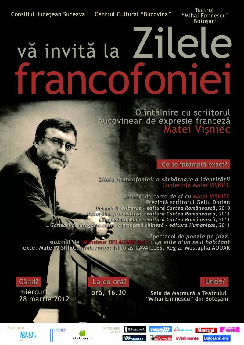Matei Visniec si trupa DELAGARE din Paris, la Teatrul Mihai Eminescu Botosani!