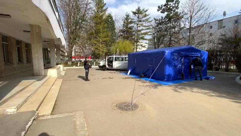Maternitatea Botoșani a intrat în plin proces de transformare în spital COVID-19