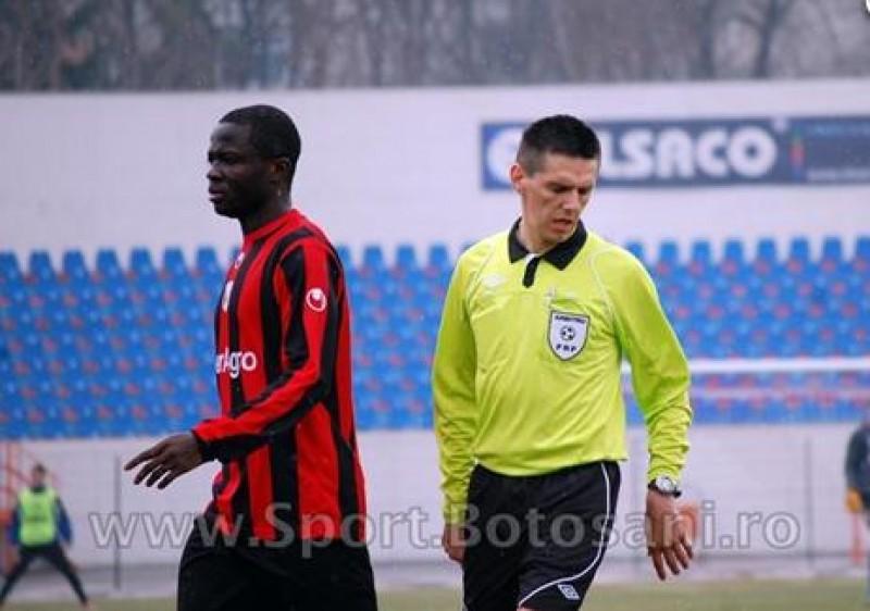 Meciul cu CFR Cluj va fi condus de un arbitru din Zalau