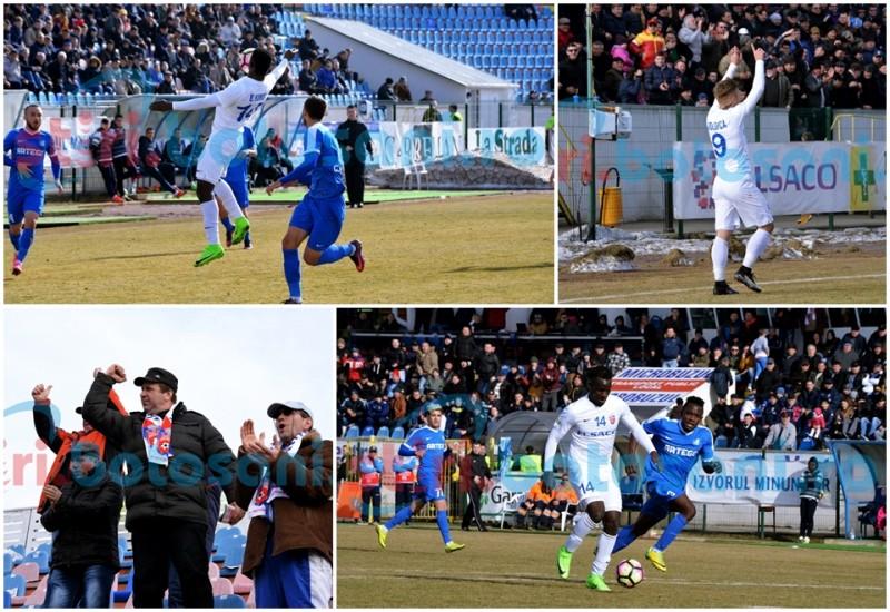 """Meciul FC Botoșani - Pandurii, văzut de la """"firul ierbii""""! Kuku: """"Haaai suuuus!"""" - GALERIE FOTO, VIDEO"""