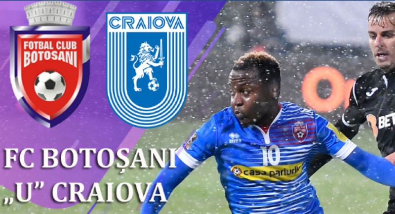 Meciul zilei pe municipal: FC BOTOȘANI – CRAIOVA!