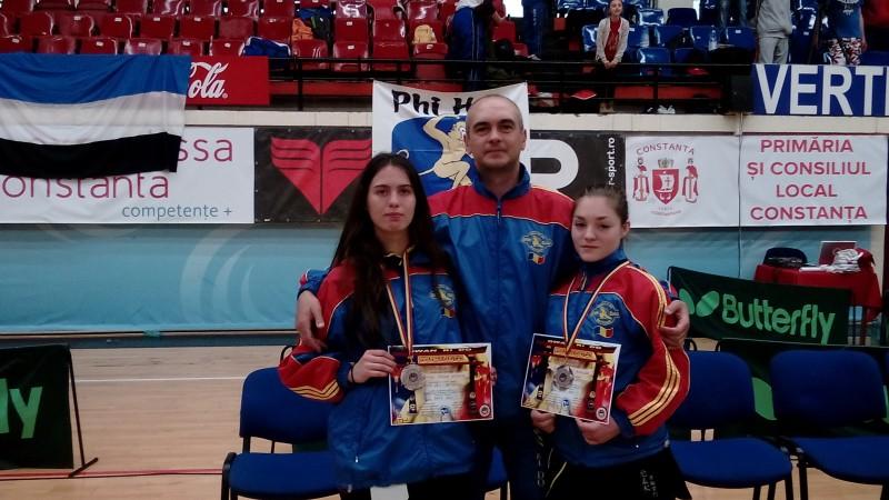 Medalii de argint pentru fetele de la Sinh Dau la Campionatul National de la Constanta