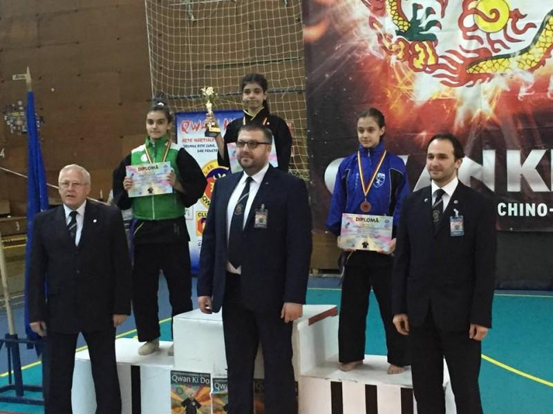 Medalii obtinute de sportivii clubului DAO Botosani, la Campionatul National de Qwan Ki Do - FOTO