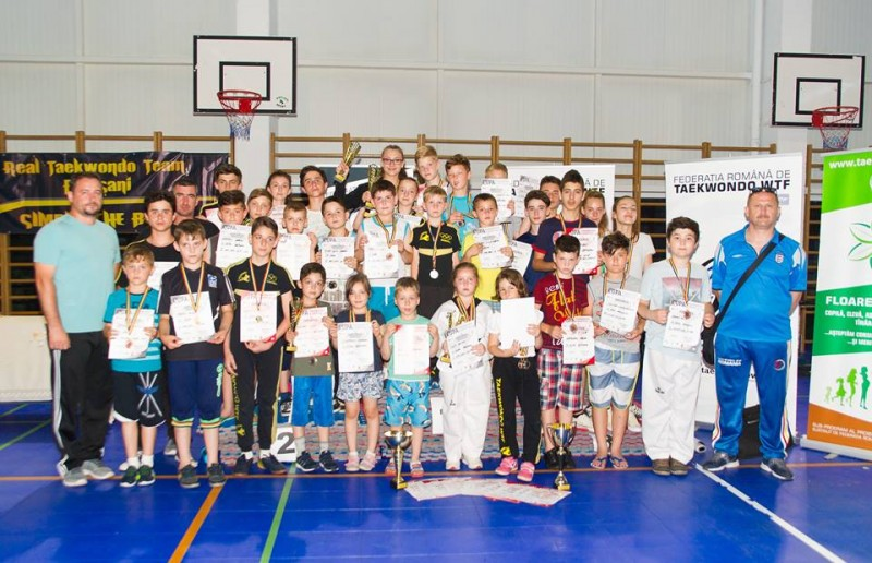 Medalii obtinute de sportivii de la CS Real Taekwondo Team Botoșani, la Cluj - FOTO